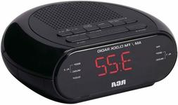Dual Wake Alarm Clock Radio