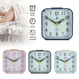 Easy To Read Alarm Clock Desk Table Travel Glow In The Dark