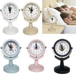 Electric Power Mini Alarm Clock Quartz Movement Kids Room Be