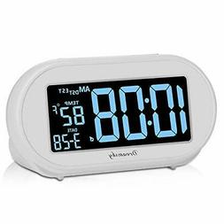 Electronic Alarm Clocks DreamSky Auto Time Set Alarm Clock W