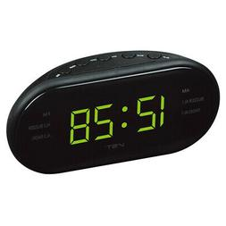 Electronic Digital Alarm Clock with AM FM Radio Sleep Snooze