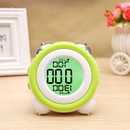 Electronic Digital Alarm Clocks Modern Cute Style Home Bedsi