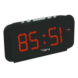 Electronic Digital LED Alarm Clock Table Time Clock for Bedr