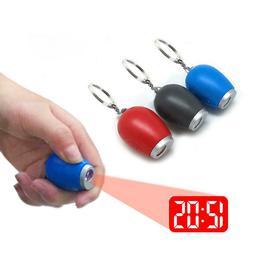 Electronic Mini Portable Digital LED Projection Time Clock w