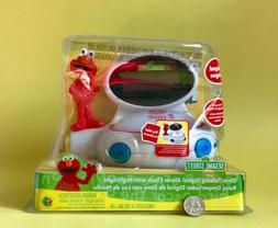 Sesame Street Elmo Bilingual Talking Alarm Clock Nightlight