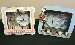 EMBELLISHED ALARM CLOCKS-YOUR CHOICE!!' KIDS, TEENS, DECOR S