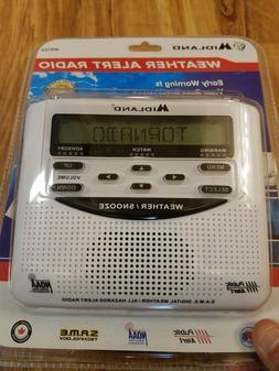 Midland Emergency Weather Alert Radio with Alarm Clock WR-12