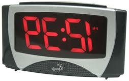 Equity by La Crosse 30029 Large LED Alarm Clock