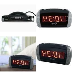 Equity by La Crosse 30240 Super Loud LED Alarm Clock, New, F