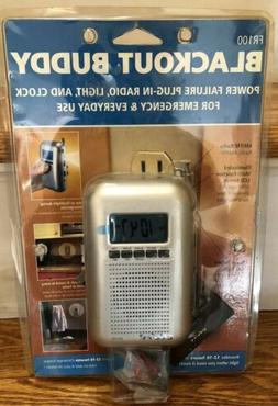Eton Blackout Buddy Emergency Radio Flashlight and Clock -FR