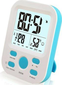 FAMICOZY Digital Alarm Clock for Boys Kids Teens,Desk Nights
