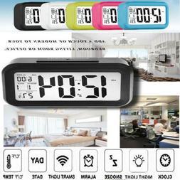 Fashion Digital Alarm Clock Small Portable Desk Morning Trav