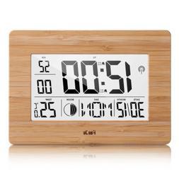 FanJu FJ3530 Digital Alarm Clock with Extra Large Display/Te