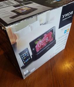FM/AM Clock Radio Sony ICF-CL7iP New iPod Alarm Clock and Ra