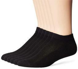 Hanes Men's FreshIQ X-Temp Comfort Cool No Show Socks 6-Pack