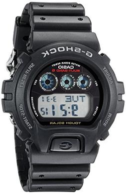 Casio Men's G-Shock GW6900-1 Tough Solar Black Resin Sport W
