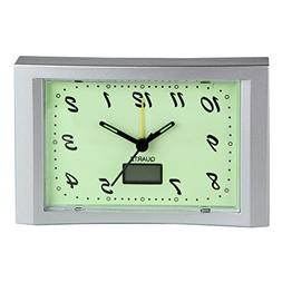 Home-X Glow in the Dark Alarm Clock, The Perfect Addition to