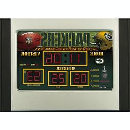 Green Bay Packers Alarm Clock Scoreboard