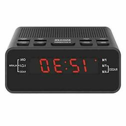 H-251US LED Digital Alarm Clocks w/ AM/FM Radio, Sleep Timer