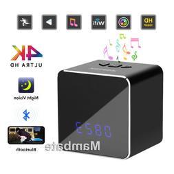 HD 1080P Wifi IP Spy Camera Motion Security Alarm Clock IR C