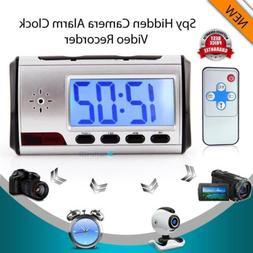 HD Digital Spy Camera Alarm Clock Hidden Video Camera Cam DV