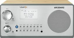 Sangean HDR-18 HD Radio & FM/AM Wooden Cabinet Radio