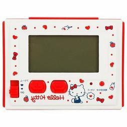Hello Kitty digital radio alarm clock Milk ☆ Sanrio cute i