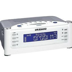 Home Alarm Clock Radio, Digital Bedside Radio Alarm Clock Mo