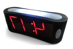 Travelwey Home LED Digital Alarm Clock - Outlet Powered, New