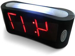 Travelwey Home LED Digital Alarm Clock - Outlet Powered, No