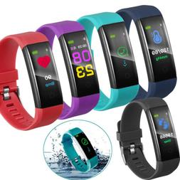 HR Smart Band TRACKER SLEEP Heart Rate Bluetooth Wristband f