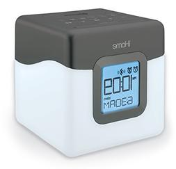 iHome Bluetooth Color Changing Dual Alarm Clock FM Radio wit