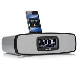 iHome iA90 App-enhanced Dual Alarm Stereo Clock Radio Charge