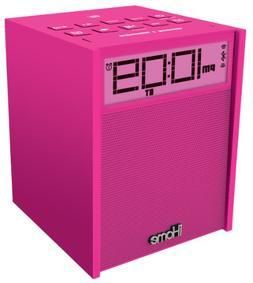 iHome iBN180P Rubberized NFC Bluetooth Dual Alarm FM Clock R