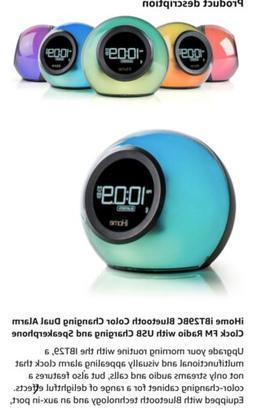 ibt29 bluetooth alarm clock radio and color