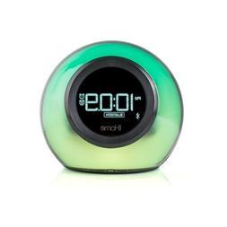 iHome iBT29BC Bluetooth Color Changing Dual Alarm Clock FM R
