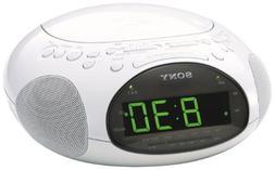 Sony ICF-CD831 CD Clock Radio with FM/AM Radio and Extendabl