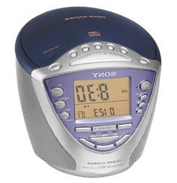 Sony ICF-CD853V AM/FM/TV/Weather Clock Radio/CD Player