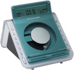 Sony ICF-CD855VSIL TV/Weather/FM/AM 4 Band CD Clock Radio