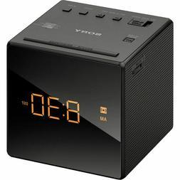 Sony ICFC1BLACK AM/FM Clock Radio with Auto Time Setting & B