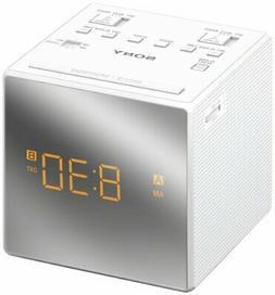 Sony ICFC1T Dual Alarm Clock Radio, White
