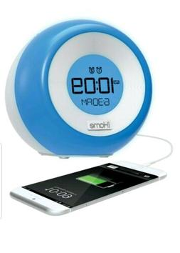 iHome iM29SC Color Changing Dual Alarm FM Clock Radio with U