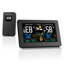Houzetek Indoor Outdoor Digital Thermometer Color Weather St