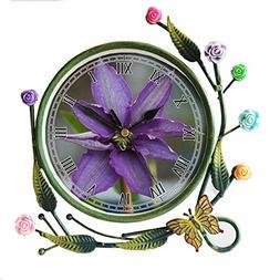 girlsight Iron Art Living Room Butterfly Flower Leaf Decorat