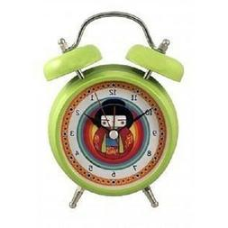 Japanese Geisha Gong Alarm Clock Green by Streamline