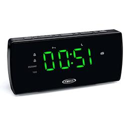 Jensen JCR-230 Am-fm Dual Alarm Clock Radio