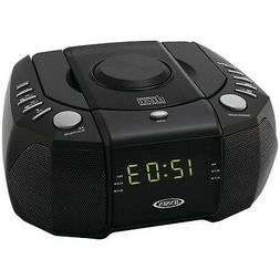 jcr 310 dual alarm clock am fm