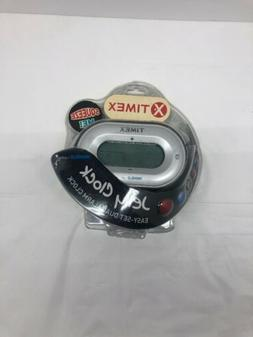 Timex Jelly Clock Easy-Set Dual Alarm Clock - Black