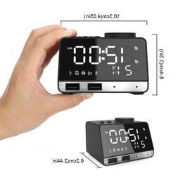 K11 Wireless Charging Smart Bluetooth Audio Alarm Clock With
