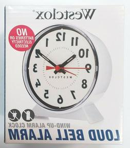 Westclox Keywound Loud Bell Analog Alarm Clock